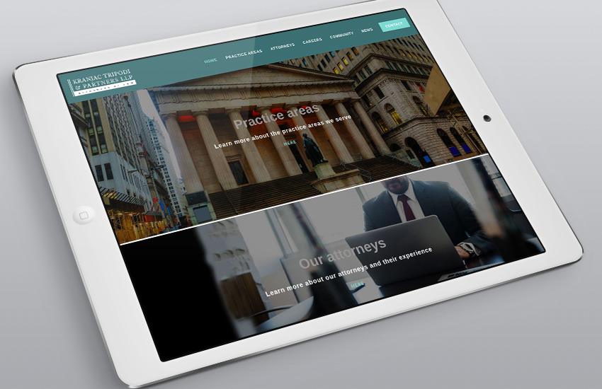 UP launches new Web site for Kranjac Law