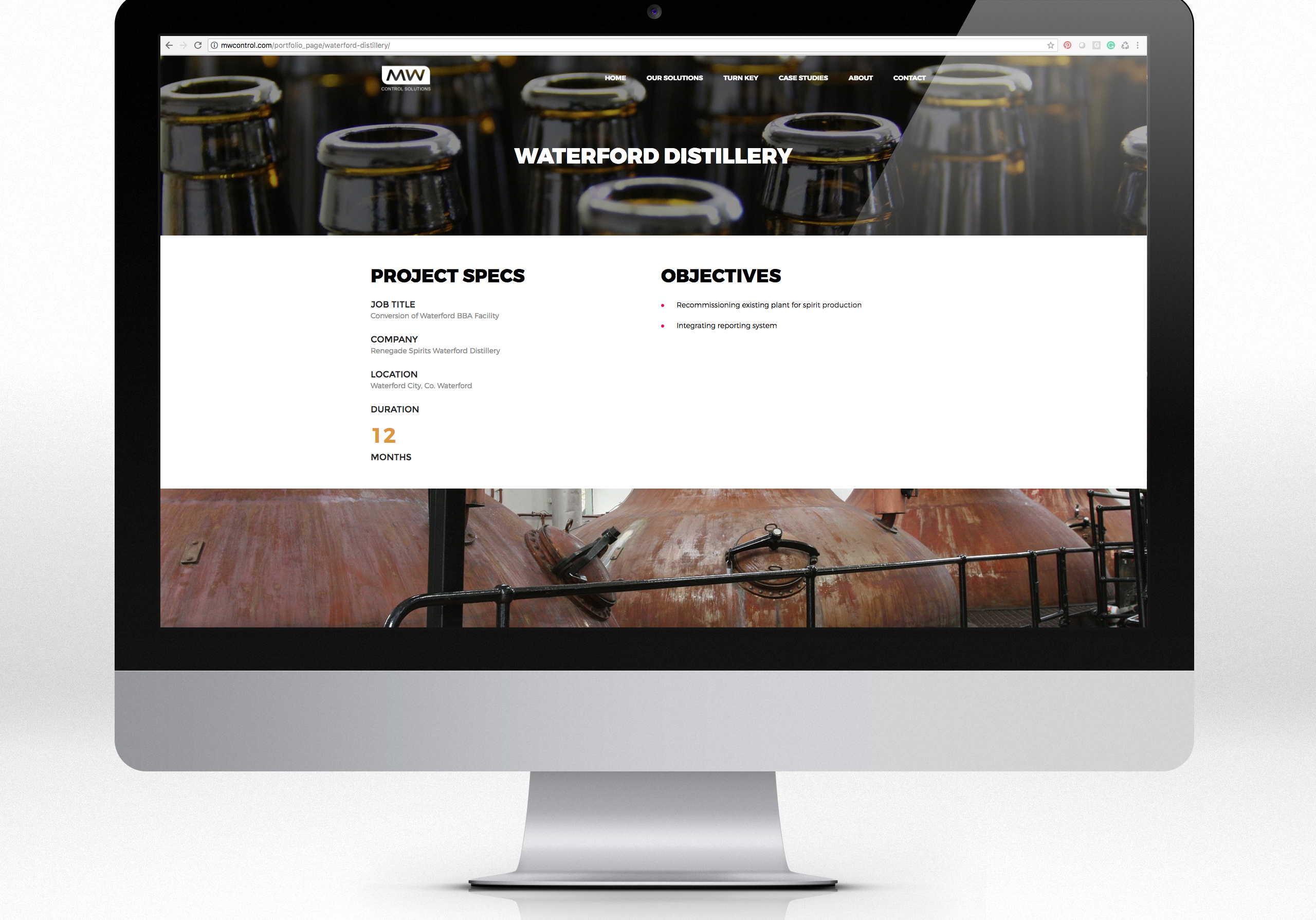 UP brews up MW Control Solutions new website